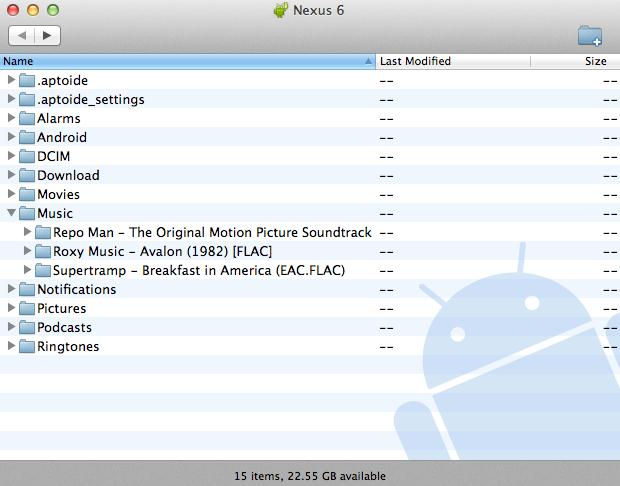 play music from android to pc