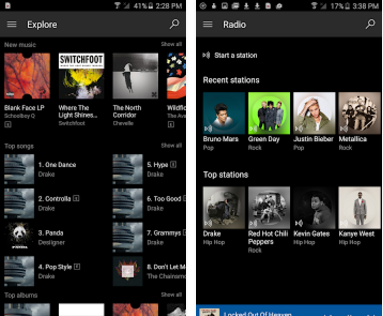 xbox music android