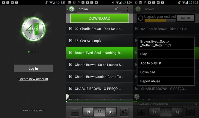 Meilleur music downloader pour galaxy