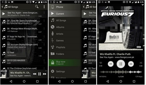 15 Best Music Players for Samsung Mobile Phones (Samsung Galaxy
