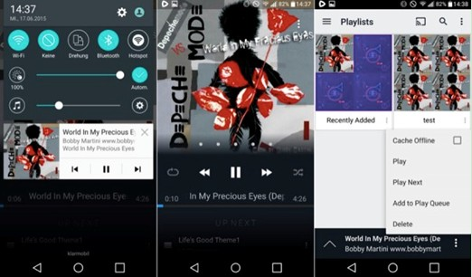 15 Best Music Players for Samsung Mobile Phones (Samsung