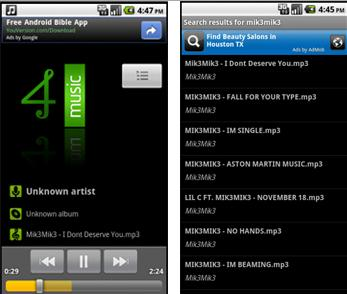 mp3 music downloader for android