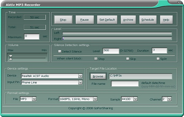 Aktiv MP3 Recorder