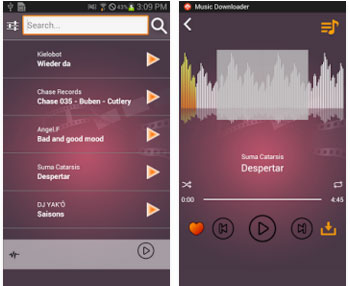 good music downloader for android