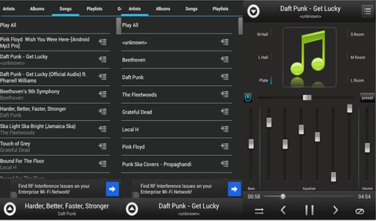 android equalizer player