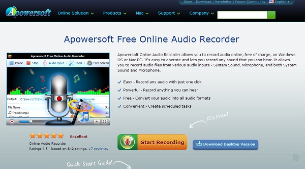 Best 10 Free MP3 Recorder: Record to MP3 on Mac, Win or Online