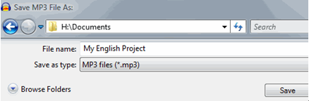 convert audacity to mp3