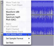 vocal remover audacity