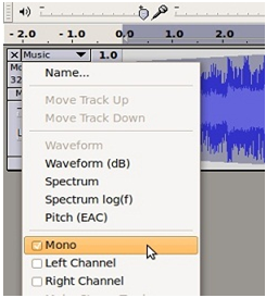 how to use create songs on audacity