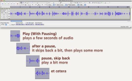 audacity audio transcription