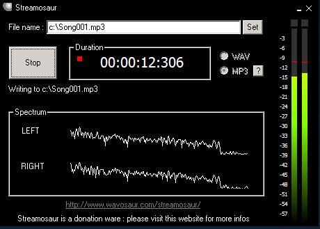Download Streaming Audio - Streamosaur Streaming Audio Recorder