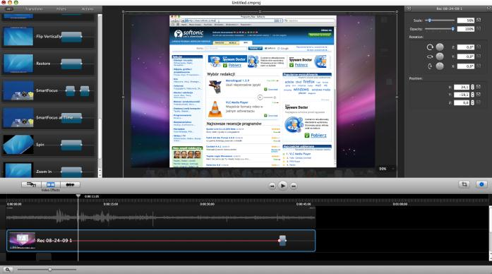 Top 10 video recording software for mac and windows for Window recorder