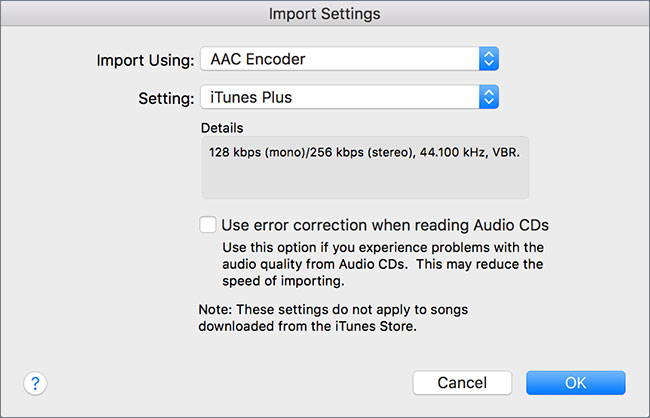 itunes converti vers mp3