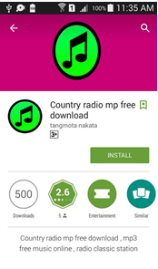 country radio mp free download