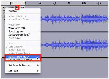 remove vocals in audacity