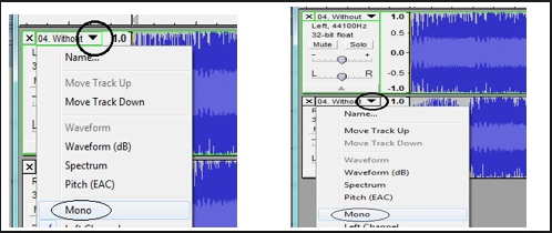 audacity vocal remover not working