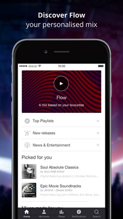 deezer player - Deezer player for iOS