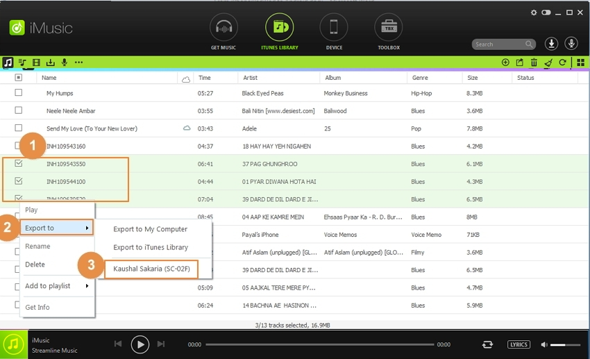 Deezer Converter - convert deezer music to other format step 2