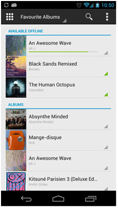 deezer app - step 3 deezer app for android