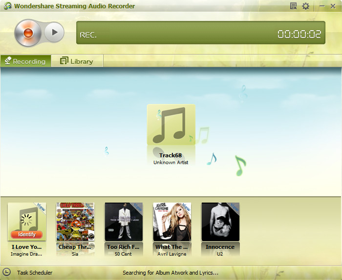 deezer to mp3 - with Streaming Audio Recorder step 1