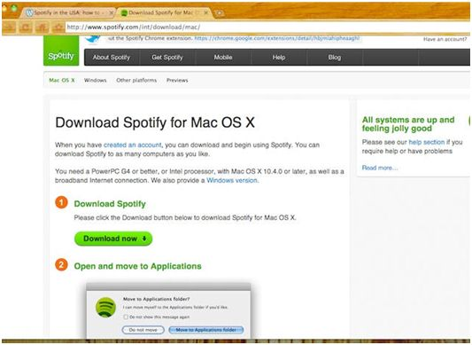 download spotify mac