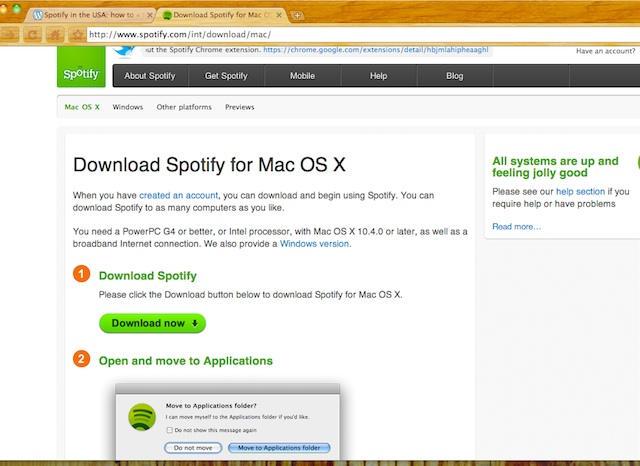 Spotify error