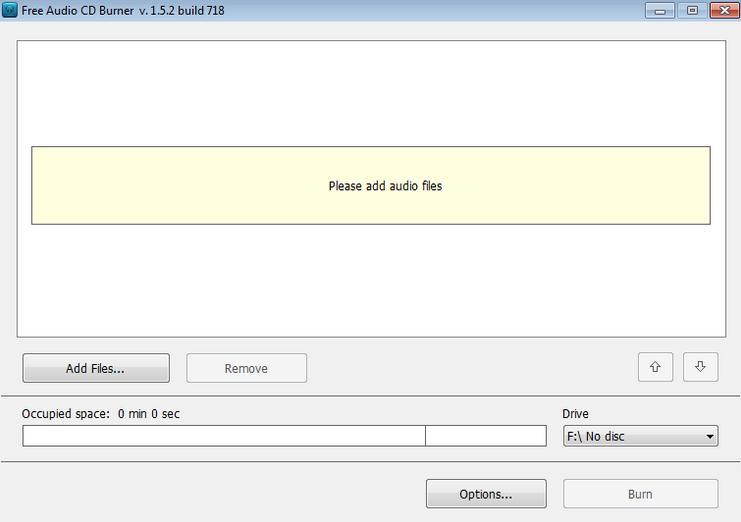 grabar cd de audio DVDVideoSoft CD Recorder