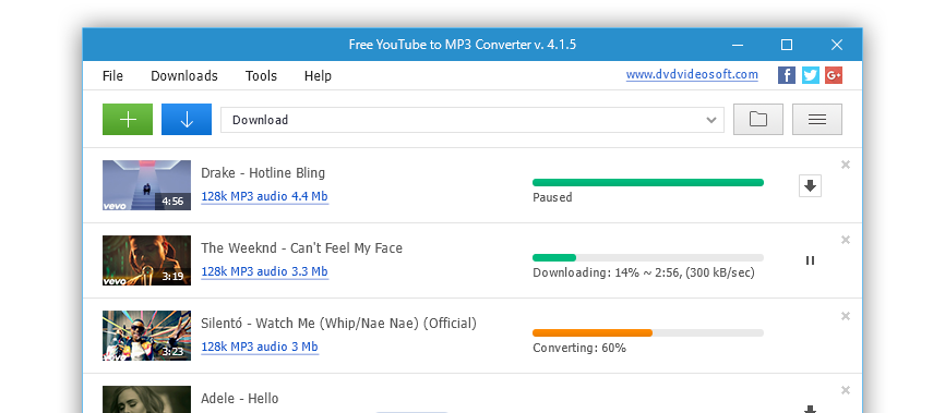 Best DVDVideoSoft YouTube to MP3 Converter for Mac