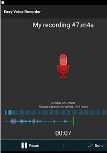 gravador de musica