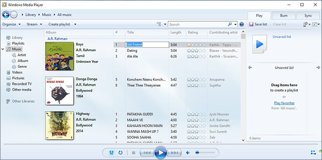 how to edit music on windows media player