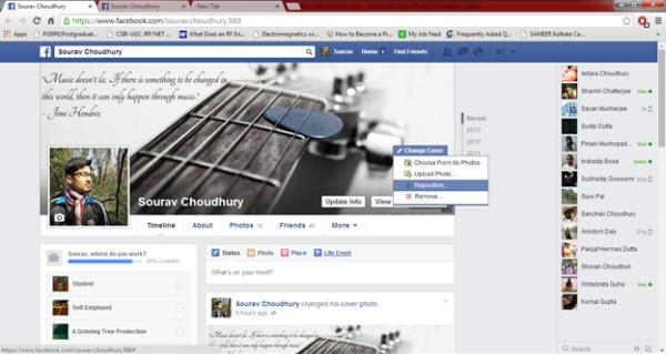 Facebook Music Covers - Select Photo