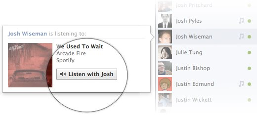 Listen to Facebook Music - Use Facebook Chat Bar