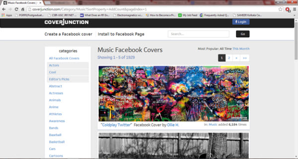 Top 10 Sites to Find Music Facebook Covers