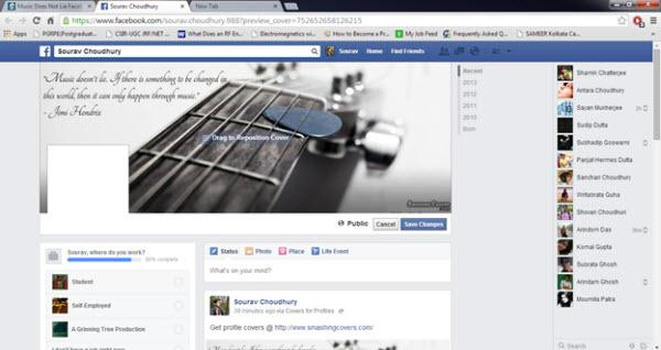 Facebook Music Covers - Go to Facebook