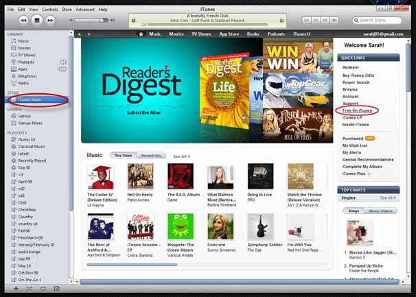 how to get itunes for free
