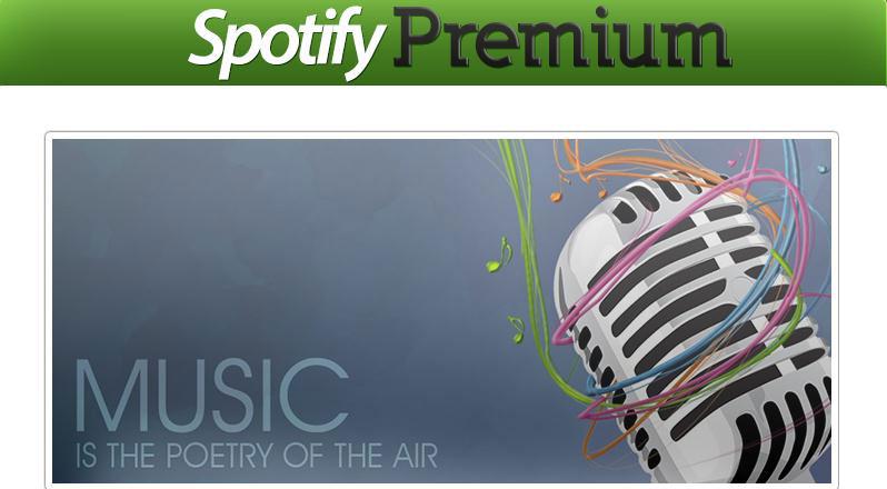 10 Sites qui Offrent Generateur de Compte Spotify Premium