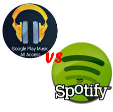 Spotify vs Google Play Music