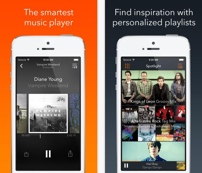 best iphone music app