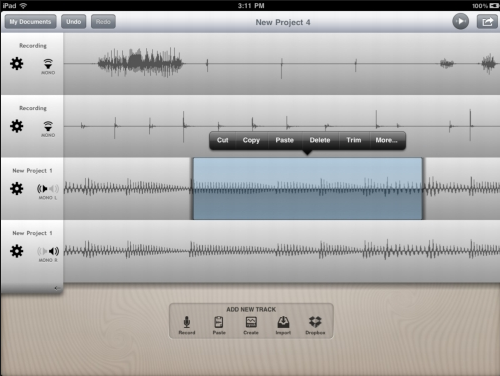 the hokusai audio editor