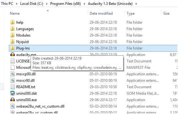 install audacity vst enabler plug-in