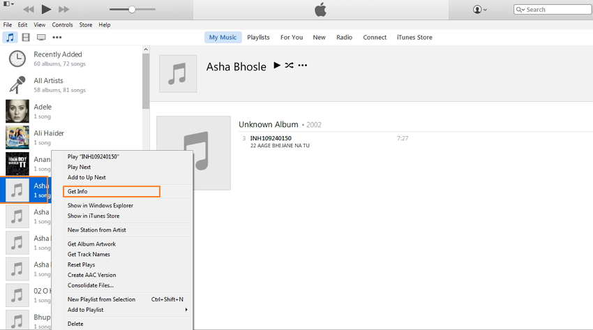 Full Solutions to Add Album Artwork to iTunes