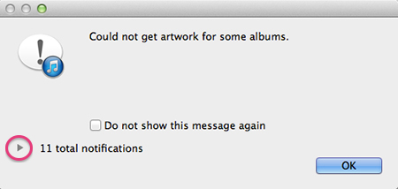 how to get rid of album artwork on itunes