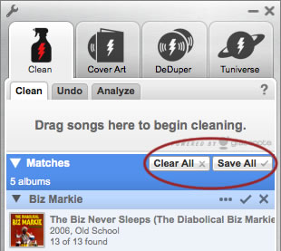 how to clean up iTunes music library