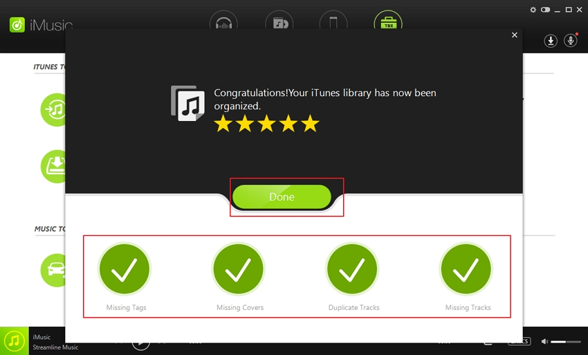 how to fix iTunes library