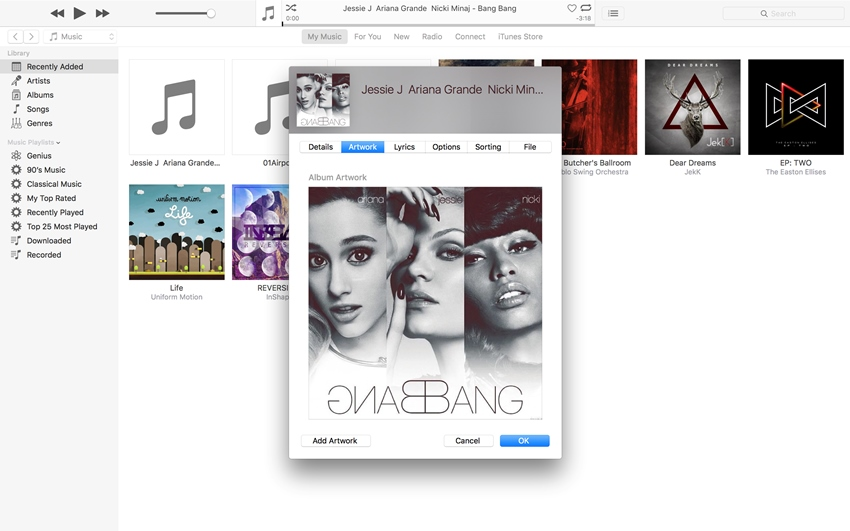 Get Album Artwork on iPhone without Any Third-Party Software