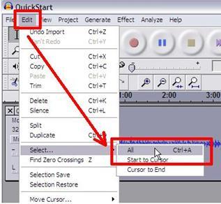 audacity increase audio volume