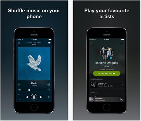 aplicaciones gratuitas de música