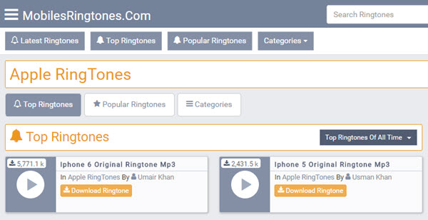 iphone ringtone free mp3 download