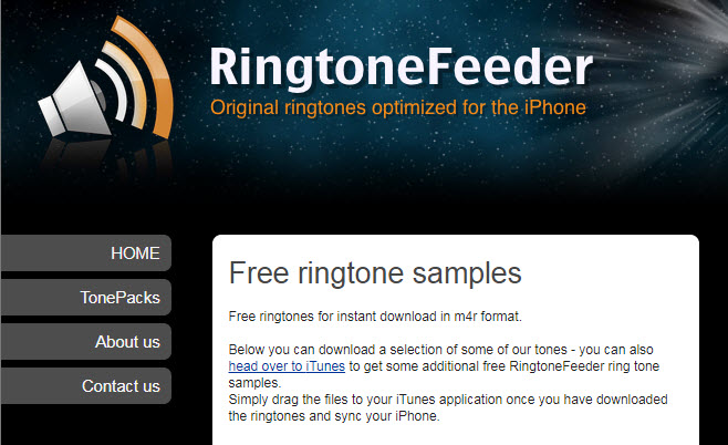 Top 11 Sites to Free Download Ringtones for iPhone