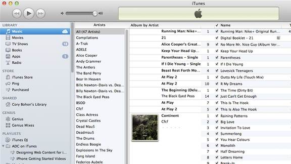 backup itunes to icloud-backu up songs